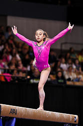 March 2, 2013 - Worcester, Massachusetts, USA - KATELYN OHASHI of USA in the American Cup at the DCU Center in Worcester, Massachusetts. (Credit Image: © Geoffrey Bolt/ZUMAPRESS.com)