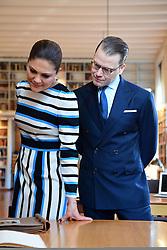 Italienreise: Kronprinzessin Victoria und Prinz Daniel besuchen das Schwedische Institut in Rom / 161216<br /> <br /> ***The swedish crown prince couple visit Italy: Visit to the Swedish Institute, Rome, December 16th, 2016***