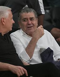 October 20, 2018 - Los Angeles, California, U.S - Haim Saban attends the NBA game between the Los Angeles Lakers and the Houston Rockets on Saturday October 20, 2018 at the Staples Center in Los Angeles, California. (Credit Image: © Prensa Internacional via ZUMA Wire)