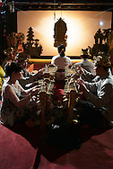 Indonesian Shadow Puppet performance, Bali, Indonesia, Southeast Asia