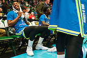 Ricky Ledo (7) of the Texas Legends looks on from the bench against the Los Angeles D-Fenders on Friday, January 9, 2015 at the Dr. Pepper Arena in Frisco, Texas. (Cooper Neill/Special Contributor)
