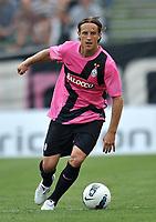 "Reto Ziegler (Juventus)<br /> Juventus Vs Cuneo<br /> Football Calcio gara amichevole 2011/2012<br /> Chiusa Pesio 5/8/2011 Centro Sportivo ""Chiusa Pesio""<br /> Foto Insidefoto Alessandro Sabattini"
