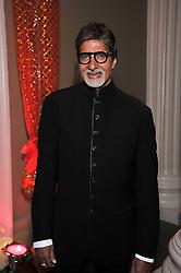 Bollywood superstar Amitabh Bachcha  at the Royal Rajasthan Gala 2009 benefiting the Indian Head Injury Foundation held at The Banqueting House, Whitehall, London on 9th November 2009.