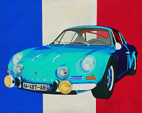 The 1973 Alpine Renault 1600-S has made its name in rallying sport. Which boys and girls did not look admiringly at the Alpine Renault 1600-S as it drove through their streets.<br />