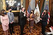 March 02, 2021 (DC): Vice President Harris Swears In Miguel Cardona As Secretary Of Education