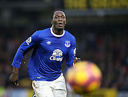Everton's Romelu Lukaku in action during the Premier League match at Vicarage Road Stadium, London. Picture date December 10th, 2016 Pic David Klein/Sportimage