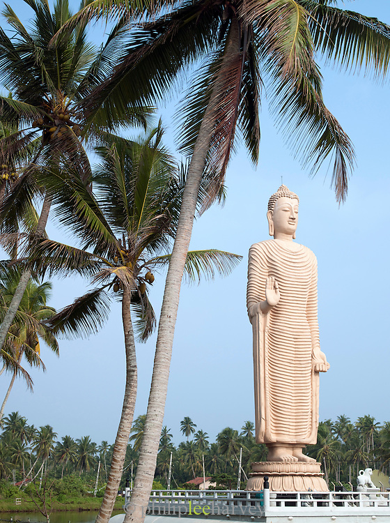 Tsunami Memorial near the town Galle, Sri Lanka
