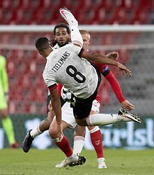 Youri Tielemans (Belgien) under UEFA Nations League kampen mellem Danmark og Belgien den 5. september 2020 i Parken, København (Foto: Claus Birch).