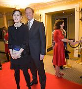 GINA MCTEE; RUPERT PENRY-JONES, South Bank Show Awards, Dorchester Hotel, Park Lane. London. 20 January 2009 *** Local Caption *** -DO NOT ARCHIVE-© Copyright Photograph by Dafydd Jones. 248 Clapham Rd. London SW9 0PZ. Tel 0207 820 0771. www.dafjones.com.<br /> GINA MCTEE; RUPERT PENRY-JONES, South Bank Show Awards, Dorchester Hotel, Park Lane. London. 20 January 2009
