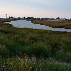 """August 4, 2017 - Tangier Island, VA - The body of water known as """"The Ditch"""" that bifurcates the main part of Tangier Island.<br /> Photo by Susana Raab/Institute"""