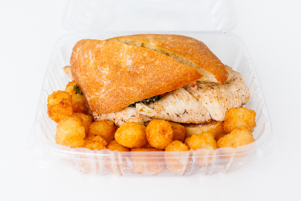 Chicken Lickin Sandy w/ Tots from Big Daddy's ($3.46) - MealPal Promo (50% off)