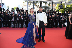 """Lorelei Taron and Radamel Falcao attend the closing ceremony screening of """"The Specials"""" during the 72nd annual Cannes Film Festival on May 25, 2019 in Cannes, France.<br /> Photo by David Niviere/ABACAPRESS.COM"""