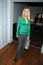 IMOGEN LLOYD WEBBER at the Grand Classic screening of The Apartment held at The Electric Cinema, 191 Portobello Road, London on 16th March 2008.<br /><br />NON EXCLUSIVE - WORLD RIGHTS