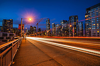 Granville Street Bridge @ Blue Hour