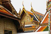 Wat Phra Kaew temple, Grand Palace, Bangkok, Thailand