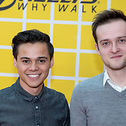 NLD/Amsterdam/20180325 - Nickelodeon Kid's Choice Awards 2018, Giovanni Kemper (L) en Louis Thyssen