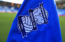Birmingham City logo embroidered on the corner flag