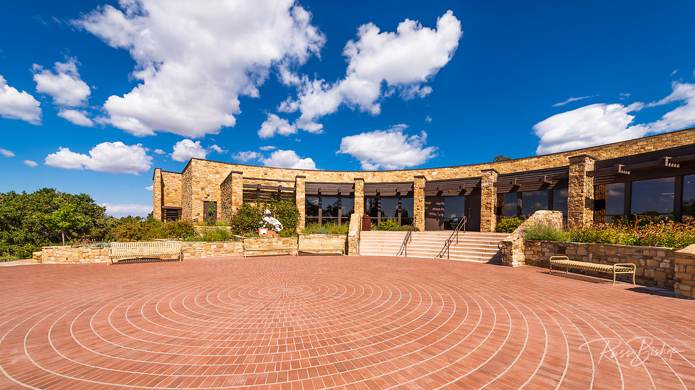 Visitor center at Canyons of the Ancients National Monument, Colorado USA