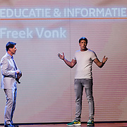 NLD/Amsterdam/20160822 - Seizoenpresentatie NPO 2016, Twan Huys en Freek Vonk