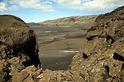 Volcanic rock near Vik, Iceland