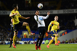 Tottenham's midfielder Paulinho   - Photo mandatory by-line: Mitchell Gunn/JMP - Tel: Mobile: 07966 386802 07/04/2014 - SPORT - FOOTBALL - White Hart Lane - London - Tottenham Hotspur v Sunderland - Premier League