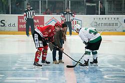 Zlatko Zahovi during Alps League Ice Hockey match between HK SZ Olimpija and HDD SIJ Jesenice, on February 12, 2019 in Ice Arena Podmezakla, Jesenice, Slovenia. Photo by Peter Podobnik / Sportida