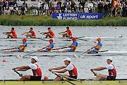 Eton. Great Britain. JM4- Final , FISA Junior  World Rowing Championships. Dorney Lake, Nr Windsor. Saturday, 06/08/2011 [Mandatory credit: Intersport Images]