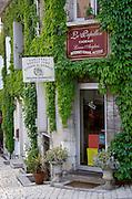 Wine shop. Le Papillon, Philippe Raimbault. Sancerre village, Loire, France