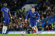 Chelsea Midfielder Mateo Kavacic during the The FA Cup fourth round match between Chelsea and Sheffield Wednesday at Stamford Bridge, London, England on 27 January 2019.