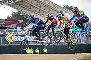 2021 UCI BMXSX World Cup<br /> Round 4 at Bogota (Colombia)<br /> Qualification Moto<br /> ^me#130 PILARD, Arthur (FRA, ME) DN1 Saint-Brieuc, Sunn, Pride, Kenny<br /> ^me#741 ARBOLEDA OSPINA, Diego Alejandro (COL, ME) GW<br /> ^me#226 CATENACCI, Romain (FRA, ME)