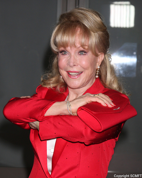 11/3/2010 Barbara Eden at the Hollywood Walk of Fame's 50th anniversary party.