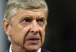 FILE PHOTO: Arsene Wenger is to leave Arsenal at the end of the season, ending a near 22-year reign as manager<br /><br />Arsenal manager Arsene Wenger ... AC Milan v Arsenal - UEFA Europa League - Round of 16 - First Leg - San Siro ... 08-03-2018 ... Milan ... Italy ... Photo credit should read: Tim Goode/EMPICS Sport. Unique Reference No. 35425670 ...