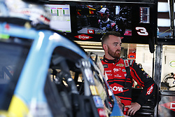 April 27, 2018 - Talladega, Alabama, United States of America - Austin Dillon (3) hangs out in the garage during practice for the GEICO 500 at Talladega Superspeedway in Talladega, Alabama. (Credit Image: © Justin R. Noe Asp Inc/ASP via ZUMA Wire)