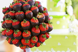 July 21, 2019 - Chocolate Covered Strawberries In Bunch (Credit Image: © Colleen Cahill/Design Pics via ZUMA Wire)