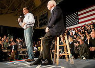 Mitt Romney with John McCain Manchester 1/4/2012