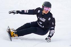 Sangho Lee (KOR) during Final Run at Parallel Giant Slalom at FIS Snowboard World Cup Rogla 2019, on January 19, 2019 at Course Jasa, Rogla, Slovenia. Photo byJurij Vodusek / Sportida