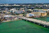 Miami Herald (One Herald Plaza) & MacArthur Causeway