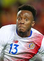 Costa Rica's Rodney Wallace during international friendly match. November 11,2017.(ALTERPHOTOS/Acero)