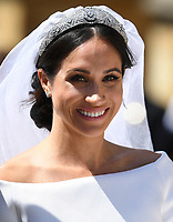 The Royal Wedding of Prince Harry to Meghan Markle at St George's Chapel, Windsor Castle, Windsor, Berkshire, UK, on the 19th May 2018.<br /> <br /> Picture by James Whatling
