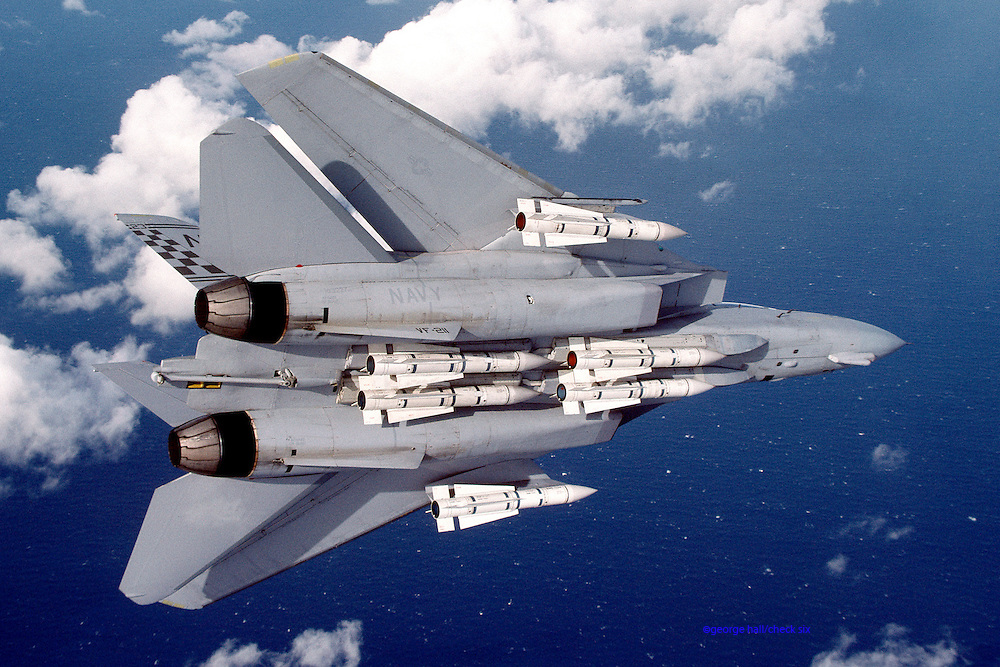 F-14B Tomcat, VF-211, with 6 Phoenix