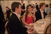 SALLY CACTUS;  TOM HUMPHREY;  Oxford University Polo club Ball, Blenheim Palace. Woodstock. 6 March 2015