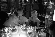 Daphne Guinness and Eugenie Niarchos,  Charles Finch and Chanel 7th Anniversary Pre-Bafta party to celebratew A Great Year of Film and Fashiont at Annabel's. Berkeley Sq. London W1. 10 February 2007. -DO NOT ARCHIVE-© Copyright Photograph by Dafydd Jones. 248 Clapham Rd. London SW9 0PZ. Tel 0207 820 0771. www.dafjones.com.