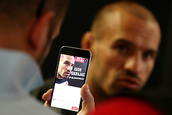 07.04.2016, Zagreb, CRO, UFC Fight Night, Pressekonferenz, im Bild Igor Pokrajac. // Fighters during the press conference before UFC Fight Night at Zagreb, Croatia on 2016/04/07. EXPA Pictures © 2016, PhotoCredit: EXPA/ Pixsell/ Dalibor Urukalovic<br /> <br /> *****ATTENTION - for AUT, SLO, SUI, SWE, ITA, FRA only*****
