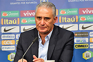 Press Conference Brazil Coach Tite during the International Friendly Game football match between Germany and Brazil on march 27, 2018 at Olympic stadium in Berlin, Germany - Photo Laurent Lairys / ProSportsImages / DPPI