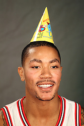 11.12.2011, The Berto Center, Deerfield, USA, NBA, Chicago Bulls Medien Tag, im Bild DERRICK ROSE CHICAGO BULLS // during Chicago Bulls Media Day at the Berto Center, Deerfield, United Staates on 2011/12/11, POLAND OUT!!!. EXPA Pictures © 2011, PhotoCredit: EXPA/ Newspix/ Kamil Krzaczynski..***** ATTENTION - for AUT, SLO, CRO, SRB, SUI and SWE only *****