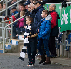 South stand. Falkirk 2 v 1 Dunfermline, Scottish Championship game played 15/10/2016, at The Falkirk Stadium.