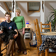 Marek 27, Teresa 52, Robert 49 - he was at work<br /> <br /> Stary Rembertów, Warsaw, Poland  average income, medium education <br /> <br /> Marek is an IT student and Teresa a housewife.  <br /> <br /> Four times a week we eat together. A good meal depends on the taste of the cook. During the family dinner we have a nice, warm atmosphere and a better contact between us. Our food varies by our mood. Our cuisine is changing depending on the situation but not on the season. The Sunday lunch is important because we eat all together. Teresa remembers that when she was a kid the meals in her family where of traditional Polish cuisine.