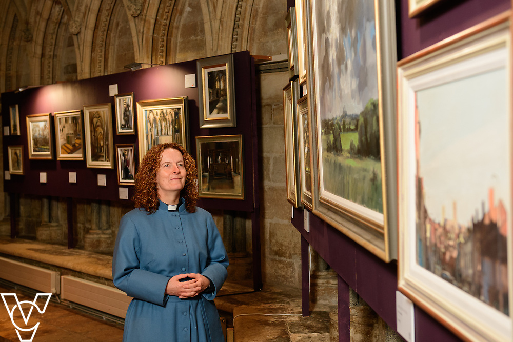 Rev Sal McDougall who has been appointed as the new Precentor of Lincoln Cathedral.<br /> <br /> Picture: Chris Vaughan Photography for Lincoln Cathedral<br /> Date: September 9, 2017