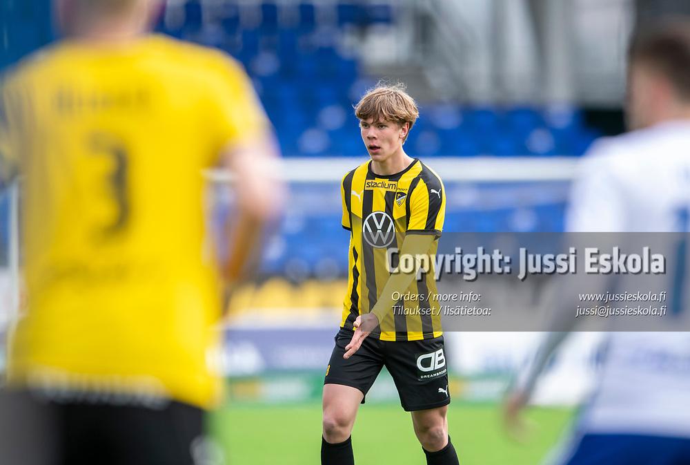 Niklas Pyyhtiä. HJK - Honka. Veikkausliiga 24.4.2021. Photo: Jussi Eskola