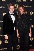 Uitreiking Gouden Televizier-Ring Gala 2018.<br /> <br /> OP de foto:   Lex Uiting en partner